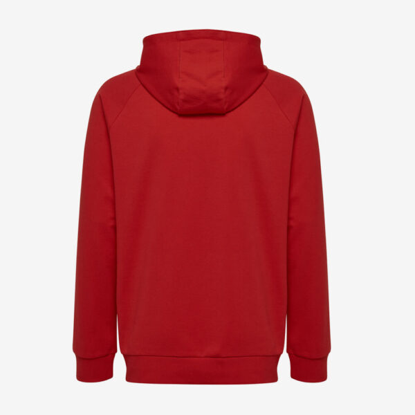 Afbeelding Hummel Go Cotton logo hoodie uni rood