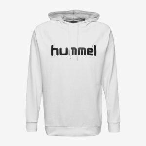 Afbeelding Hummel Go Cotton logo hoodie uni wit