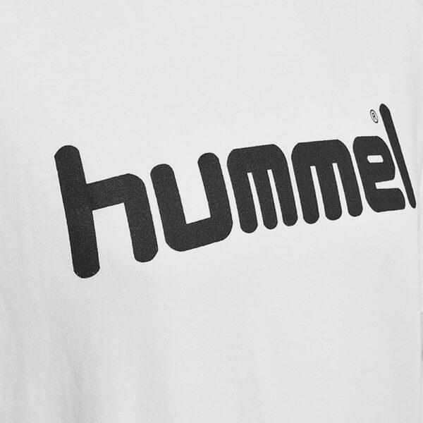 Afbeelding Hummel go cotton logo t-shirt wit