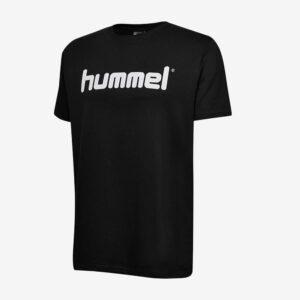 Afbeelding Hummel go cotton logo t-shirt zwart