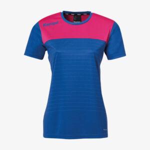 Afbeelding Kempa Emotion 2.0 sportshirt dames voorkant blauw/paars