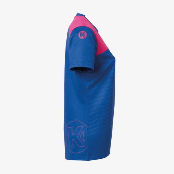Afbeelding Kempa Emotion 2.0 sportshirt dames zijkant blauw/paars