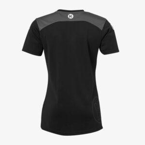 Afbeelding Kempa Emotion 2.0 sportshirt dames achterkant zwart/grijs
