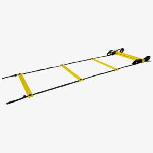 Afbeelding Tunturi fitness ladder speedladder 4,5m zwart/geel