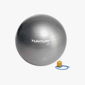 Afbeelding Tunturi fitnessbal gymbal 65 cm grijs