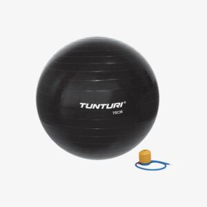 Afbeelding Tunturi fitnessbal gymbal 75cm zwart
