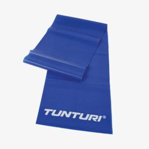 Afbeelding Tunturi weerstandband fitness elastiek zware weerstand blauw