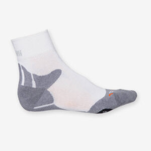 Afbeelding Rogelli running socks hardloopsok rrs01 wit grijs
