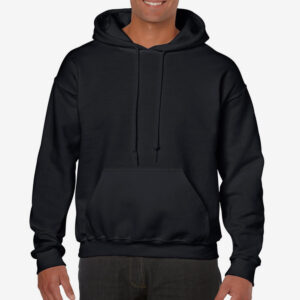 Afbeelding hooded sweater hoodie zwart