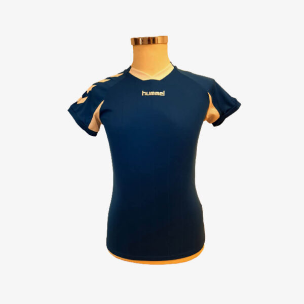 Hummel Everton sportshirt Marine/Wit