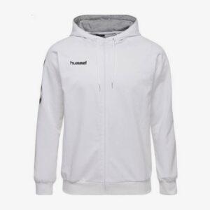 Afbeelding Hummel Go Cotton zip hoodie uni wit