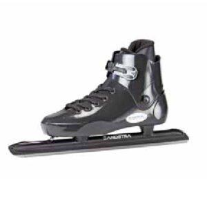 Afbeelding Zandstra 1681 LC Moulded Veter laag model schaats zwart