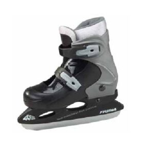 Afbeelding Zandstra 232 Ontario jeugdschaats ijshockeyschaats zwart/grijs