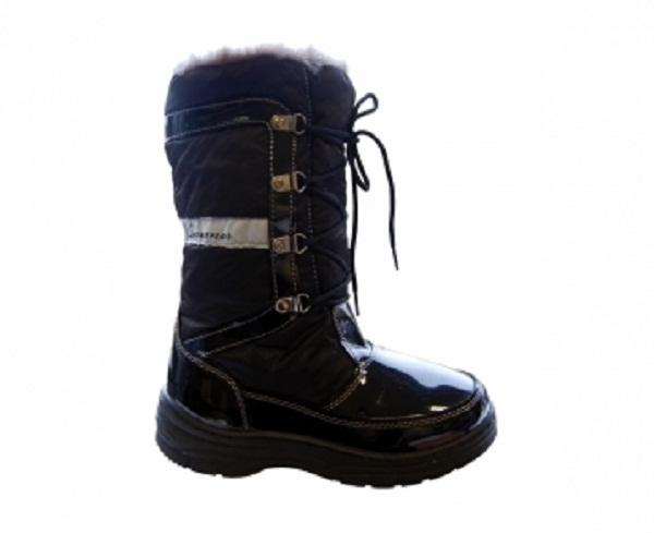 Afbeelding Rucanor Spore snowboots dames zwart