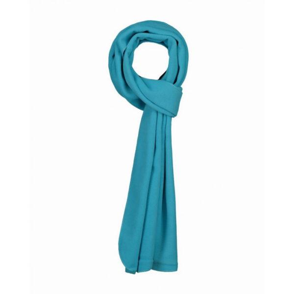 Afbeelding fleece shawl turquioise