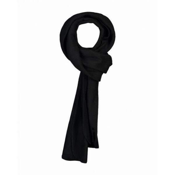 Afbeelding fleece shawl zwart