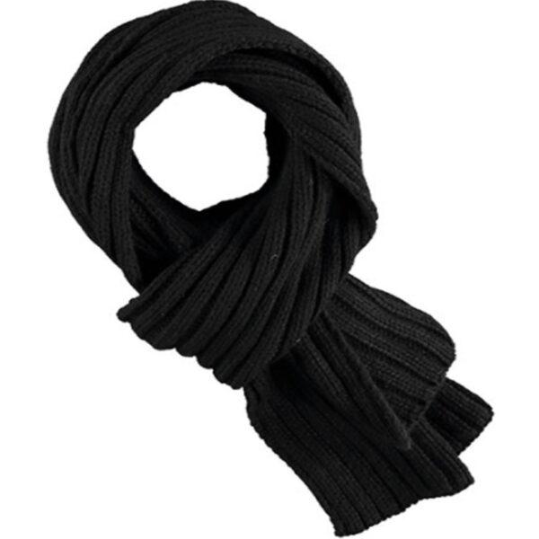 Afbeelding Rucanor gebreide sjaal zwart
