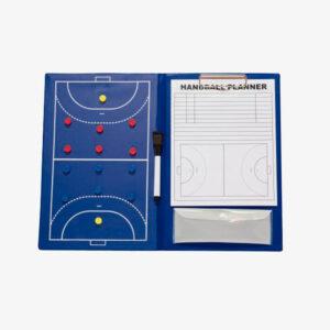 Afbeelding Rucanor coachboard handbal blauw binnenkant