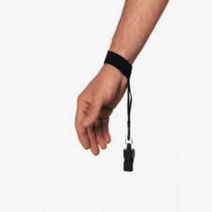 Afbeelding Rucanor Scheidsrechter armband zwart