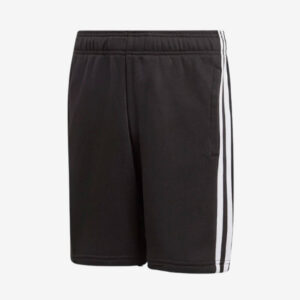 Afbeelding Adidas Essentials 3 stripes knit short sportbroek junior zwart-wit