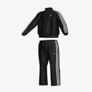 Adidas Performance Essentials - Trainingspak Junior Zwart