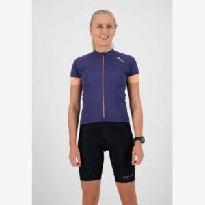 Afbeelding Rogelli Modesta fietsshirt dames wielershirt paars/rozert