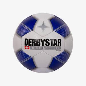 Afbeelding Derbystar Futsal Speed zaalvoetbal wit/blauw