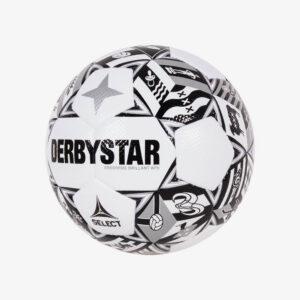fbeelding Derbystar eredivisie brillant 21/22 wedstrijdvoetbal wit/zwart