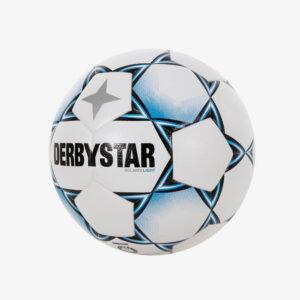 derbystar solaris tt Light II voetbal wit/lichtblauw