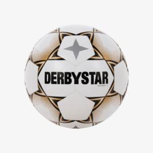 derbystar solaris tt 5 voetbal wit/goud