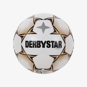 derbystar solaris tt 5 voetbal wit/goudderbystar solaris tt 5 voetbal wit/goud