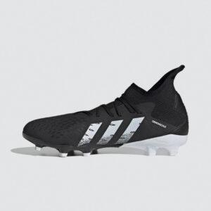 Afbeelding Predator Freak.3 firm ground voetbalschoenen zwart/grijs