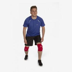 Afbeelding Rucanor Smash kniebeschermers rood